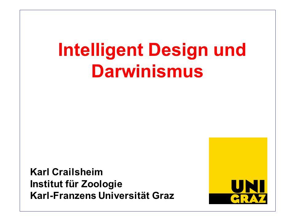 Intelligent Design und Darwinismus