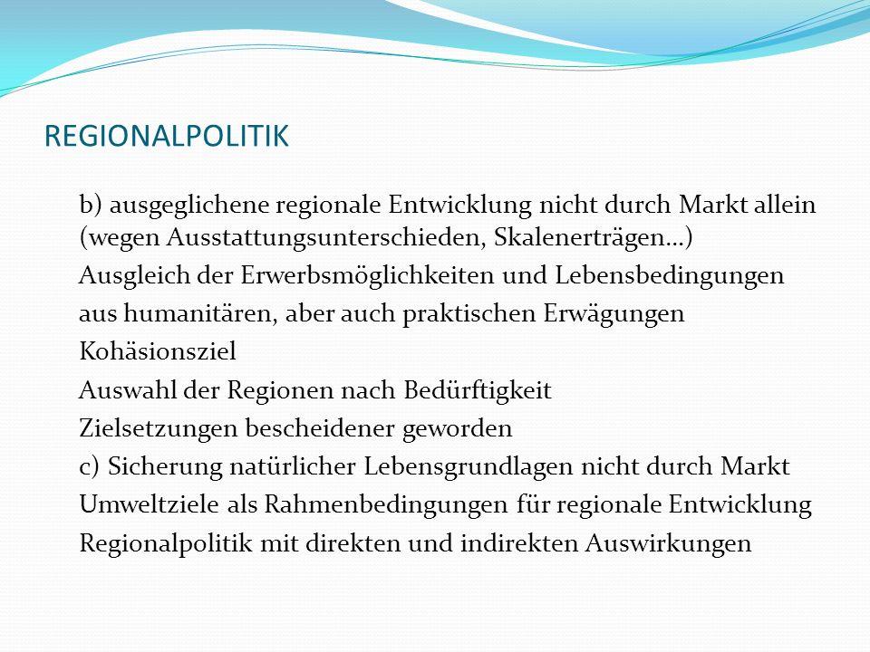 REGIONALPOLITIK