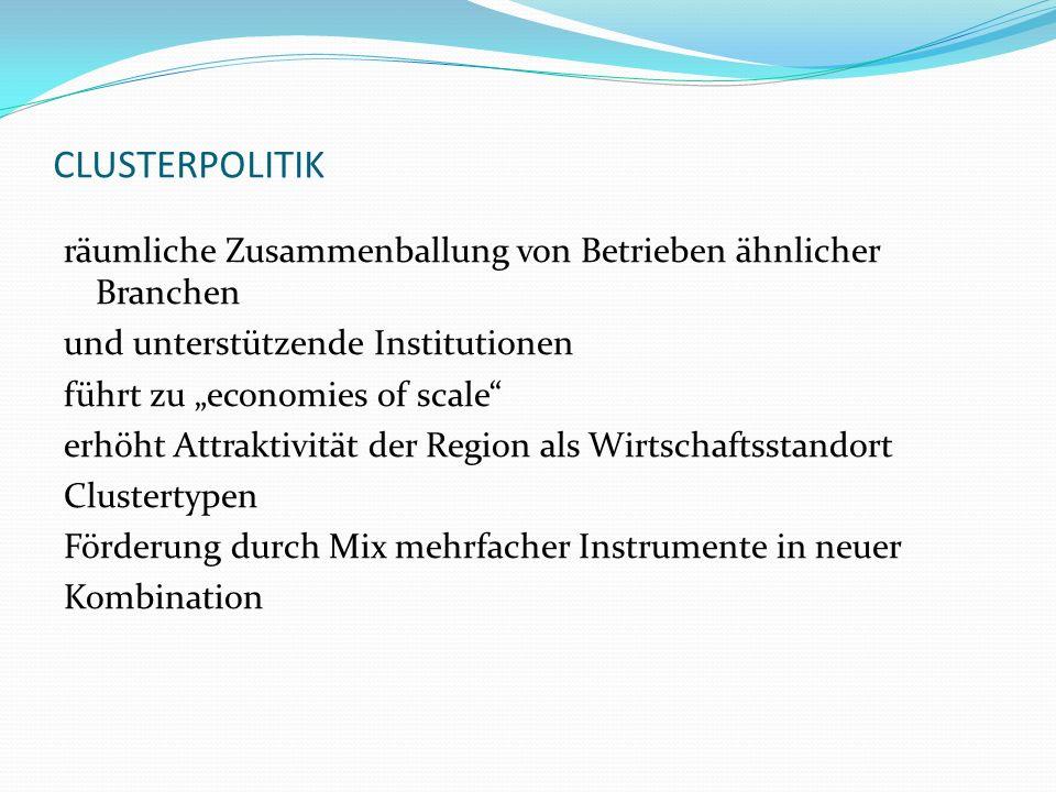 CLUSTERPOLITIK