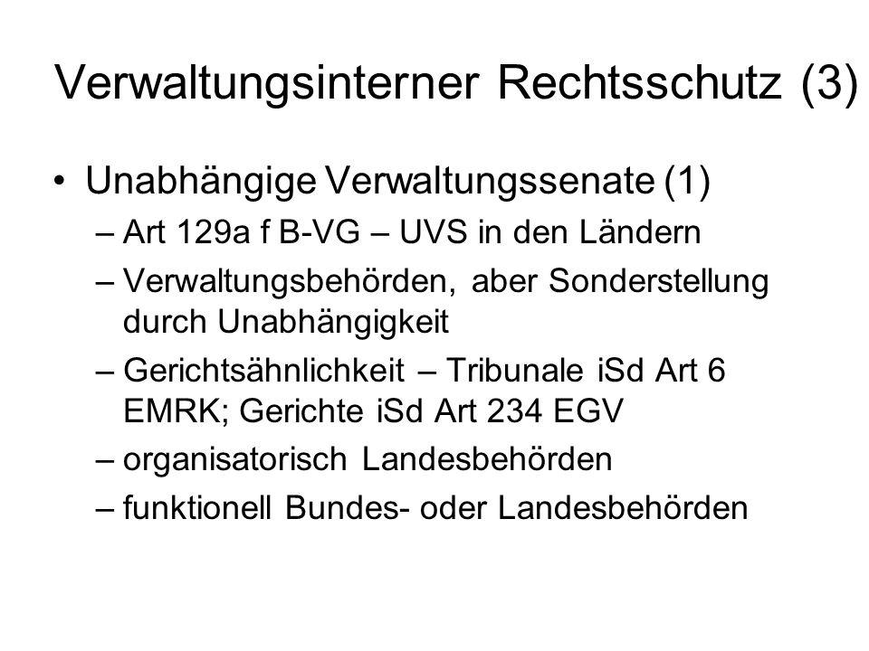Verwaltungsinterner Rechtsschutz (3)
