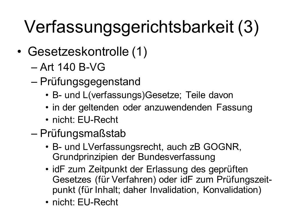 Verfassungsgerichtsbarkeit (3)