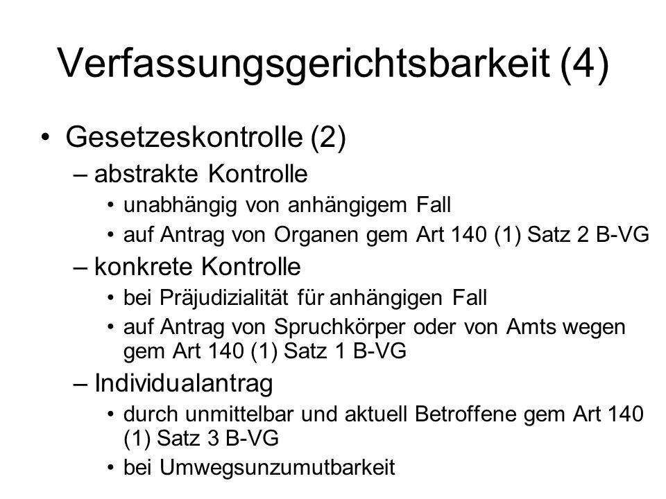 Verfassungsgerichtsbarkeit (4)