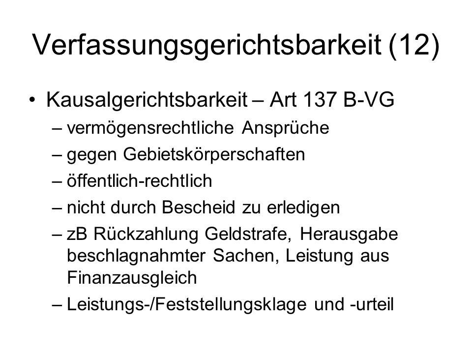 Verfassungsgerichtsbarkeit (12)