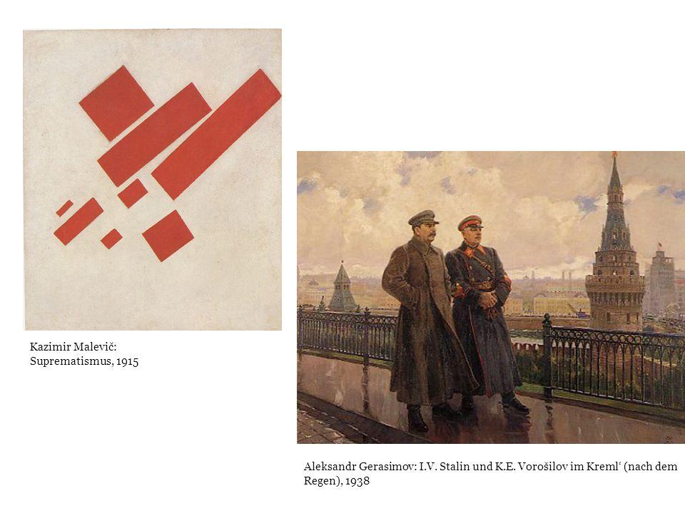 Kazimir Malevič: Suprematismus, 1915