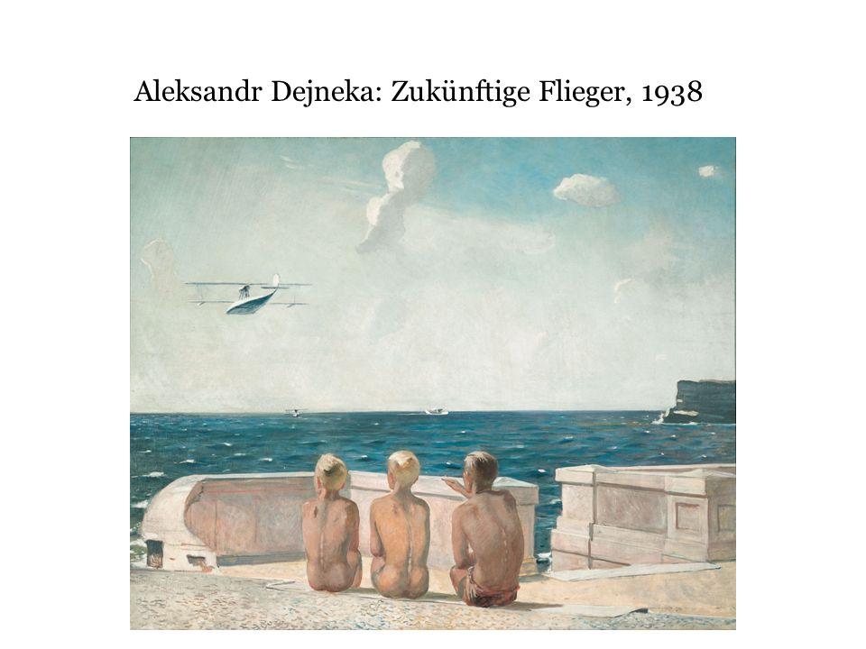 Aleksandr Dejneka: Zukünftige Flieger, 1938