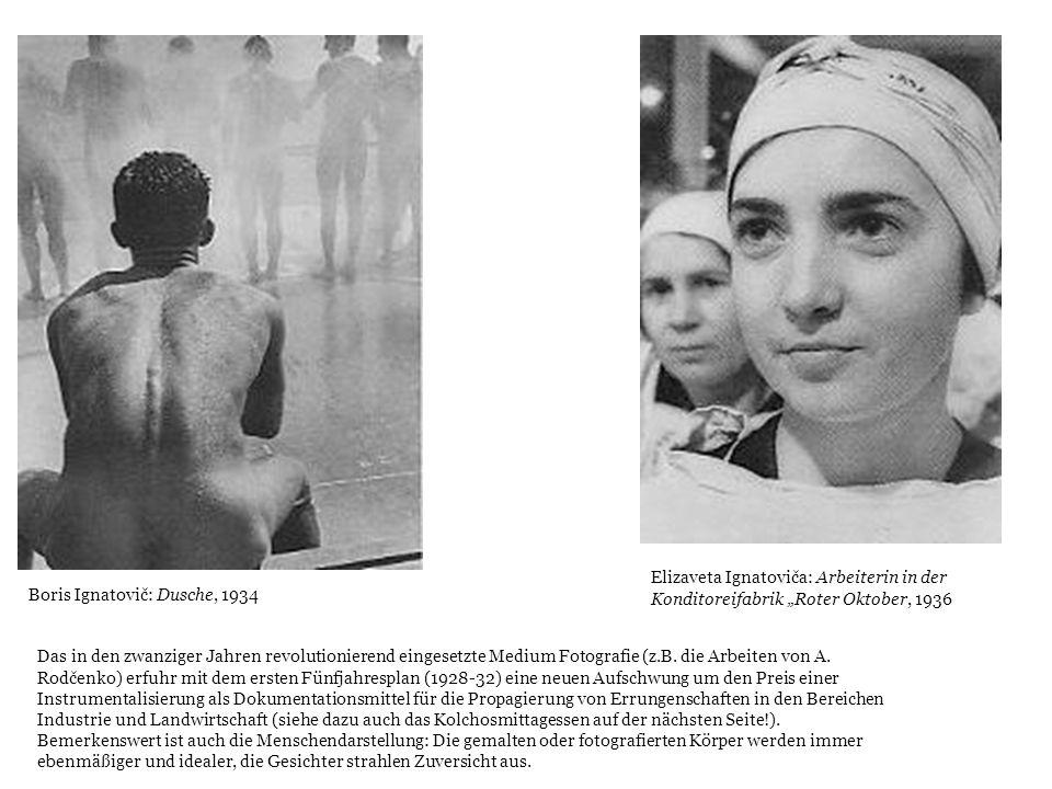"Elizaveta Ignatoviča: Arbeiterin in der Konditoreifabrik ""Roter Oktober, 1936"