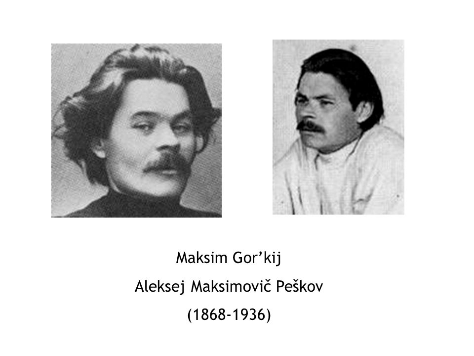 Aleksej Maksimovič Peškov