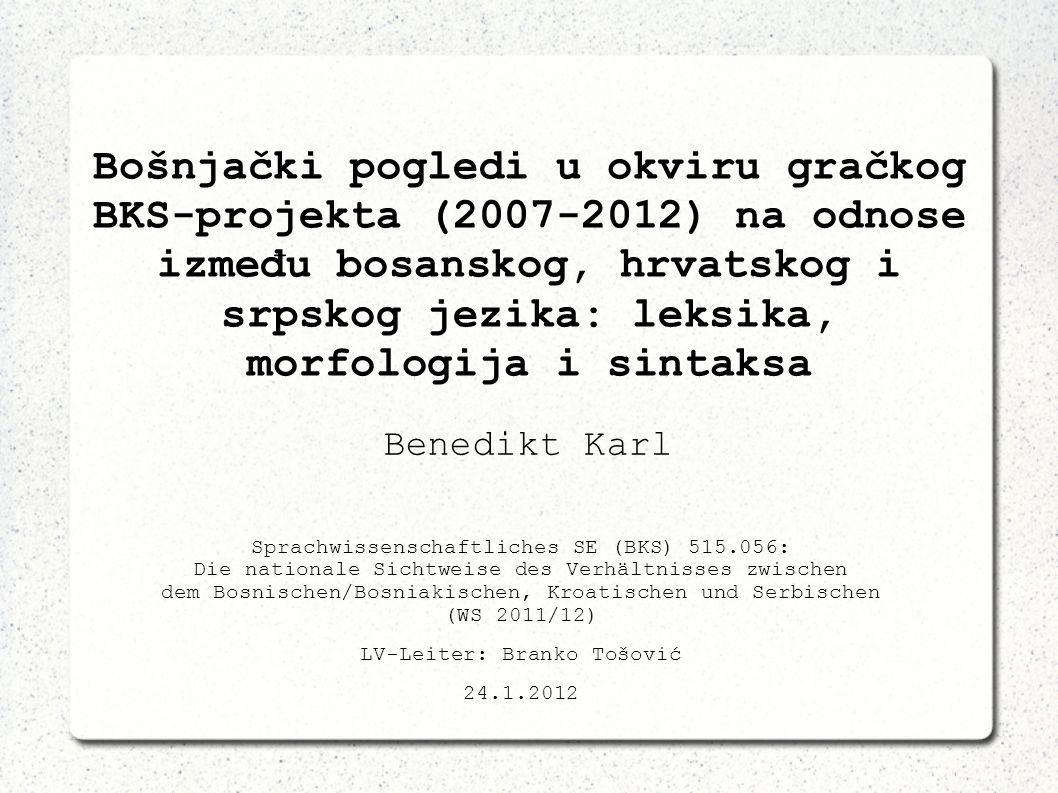 LV-Leiter: Branko Tošović