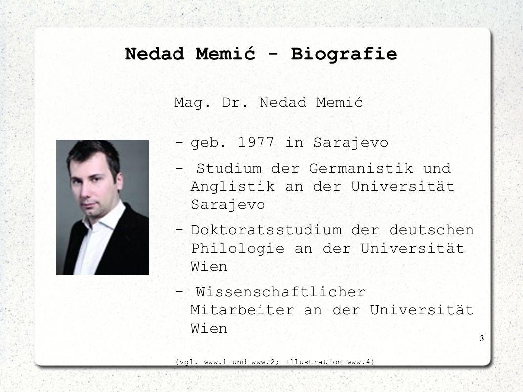 Nedad Memić - Biografie