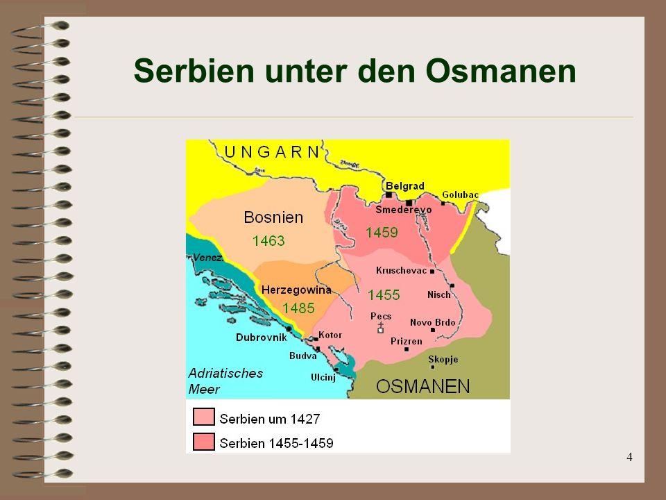 Serbien unter den Osmanen