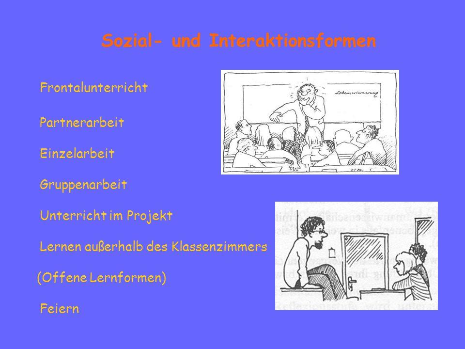 Sozial- und Interaktionsformen