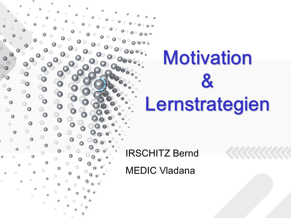 Motivation & Lernstrategien