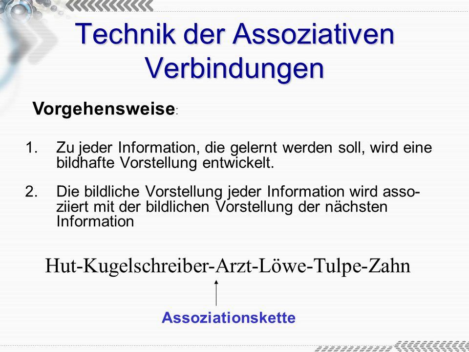 Technik der Assoziativen Verbindungen