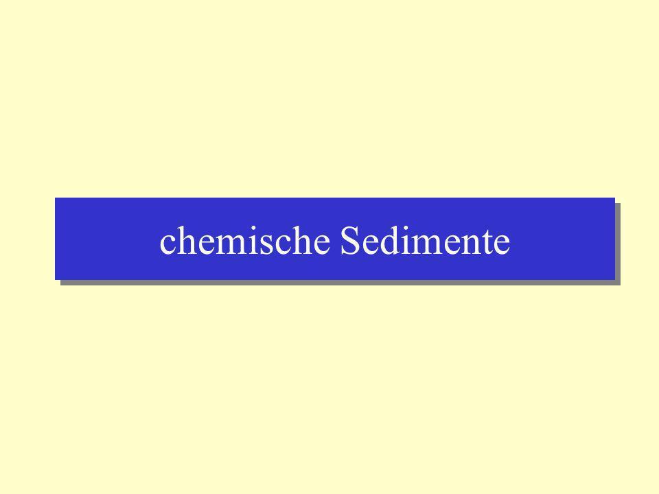 chemische Sedimente