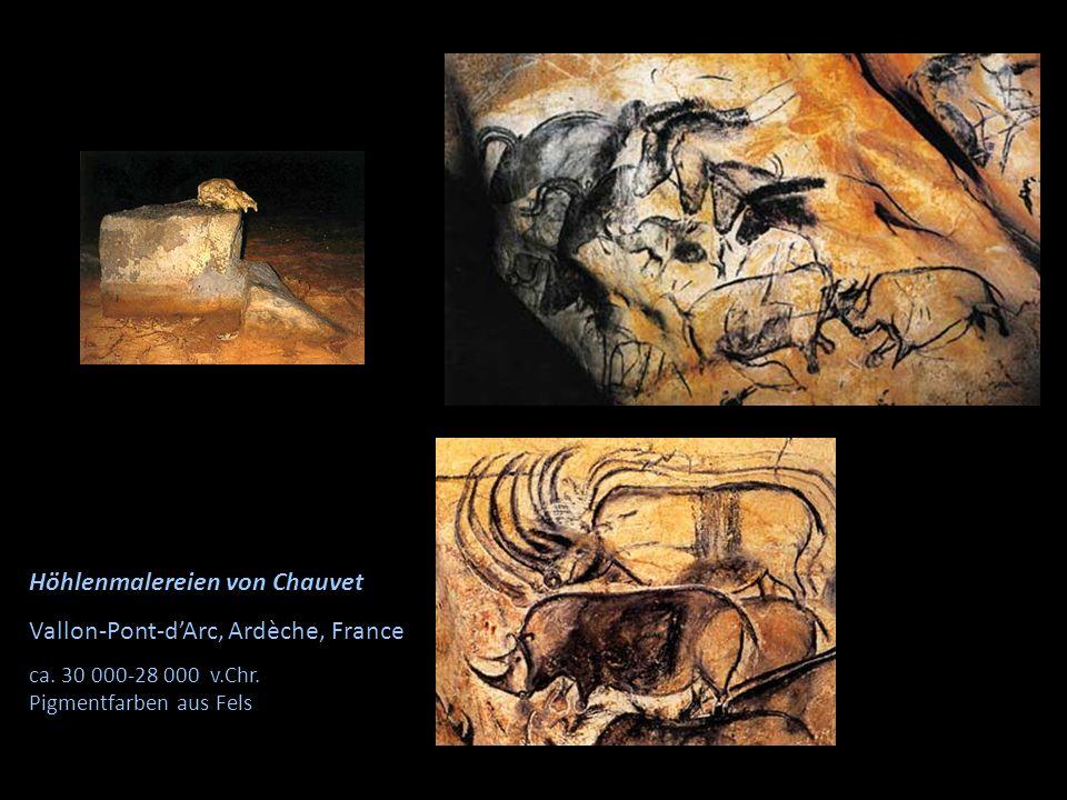 Höhlenmalereien von Chauvet Vallon-Pont-d'Arc, Ardèche, France