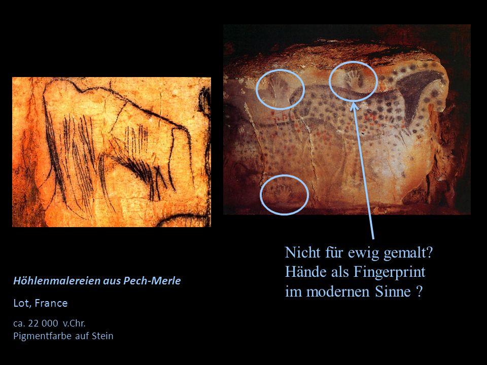 Hände als Fingerprint im modernen Sinne