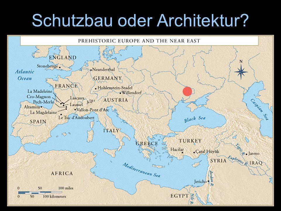 Schutzbau oder Architektur