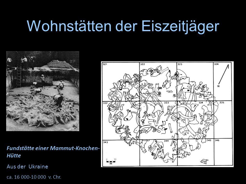 Wohnstätten der Eiszeitjäger