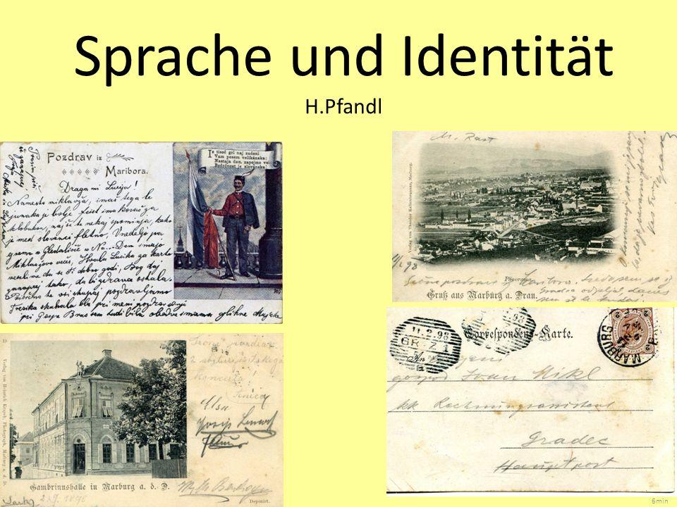 Sprache und Identität H.Pfandl