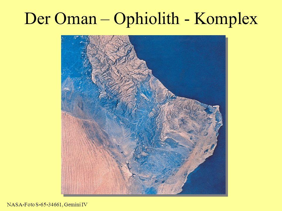 Der Oman – Ophiolith - Komplex