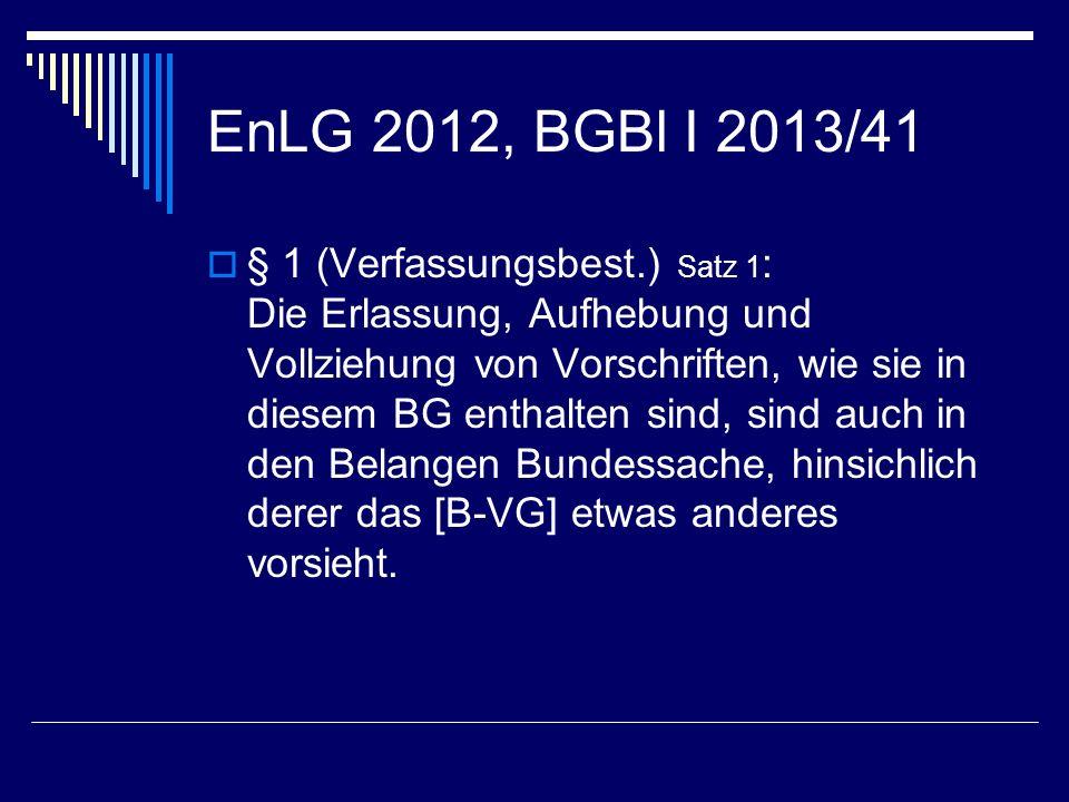 EnLG 2012, BGBl I 2013/41