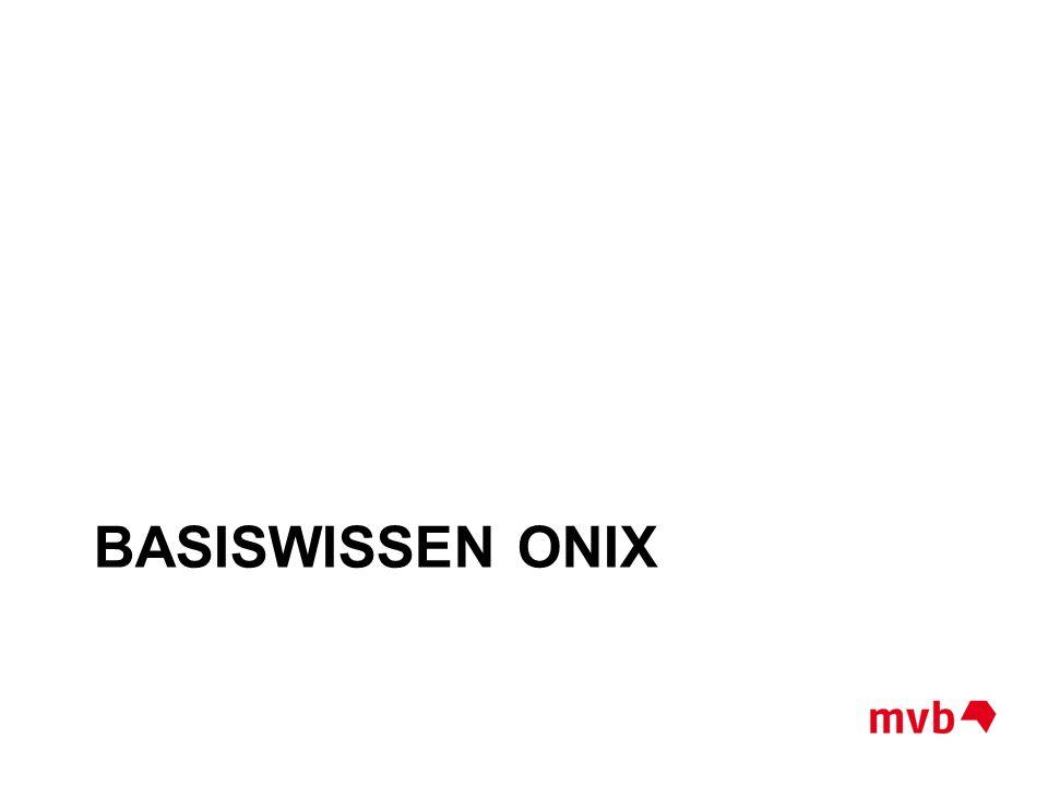 Basiswissen onix