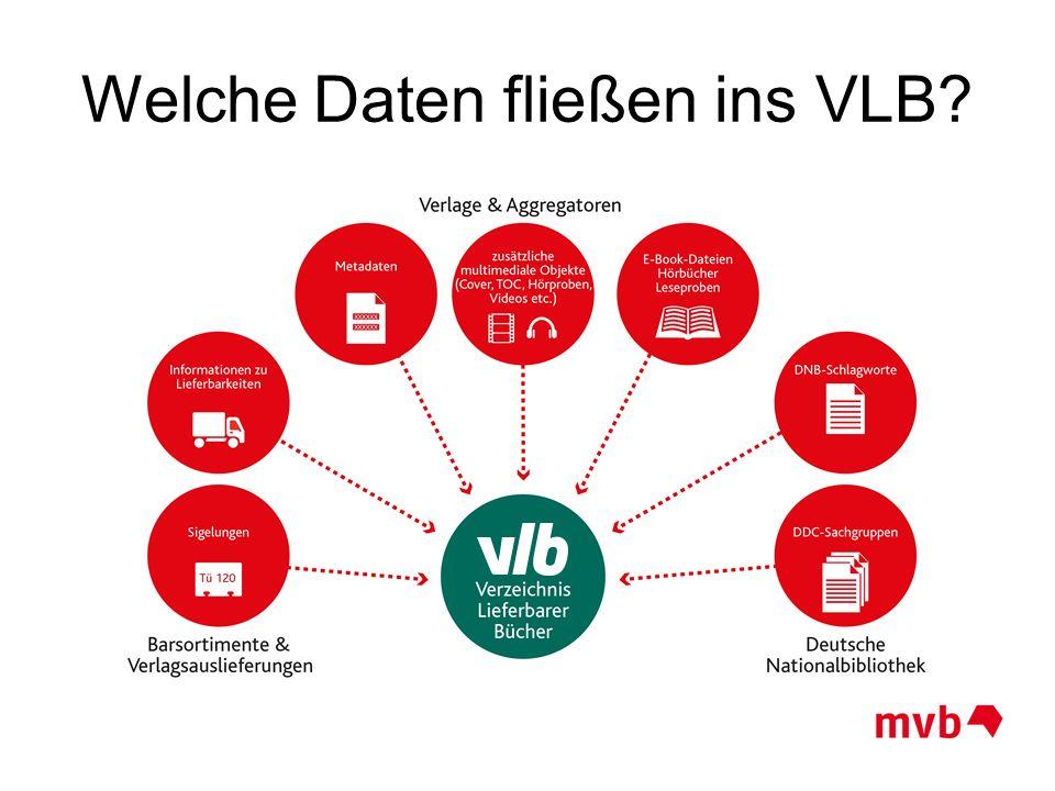 Welche Daten fließen ins VLB