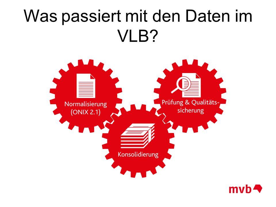 Was passiert mit den Daten im VLB