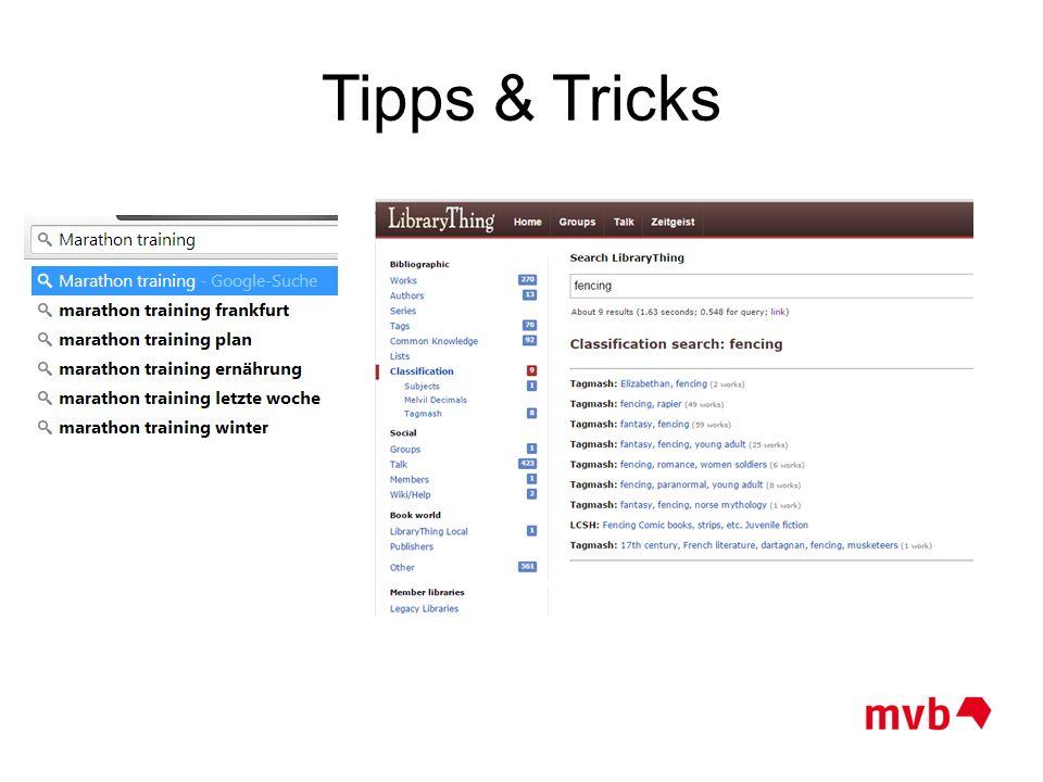 Tipps & Tricks