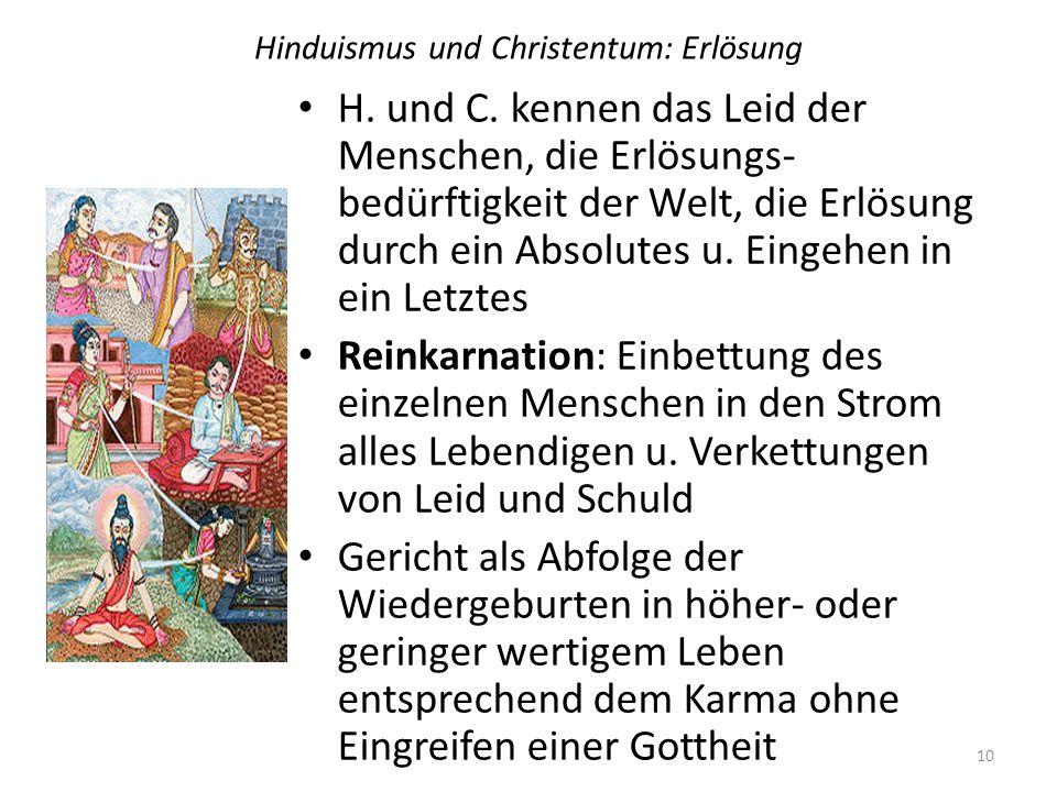 Hinduismus und Christentum: Erlösung