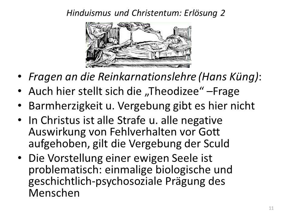 Hinduismus und Christentum: Erlösung 2