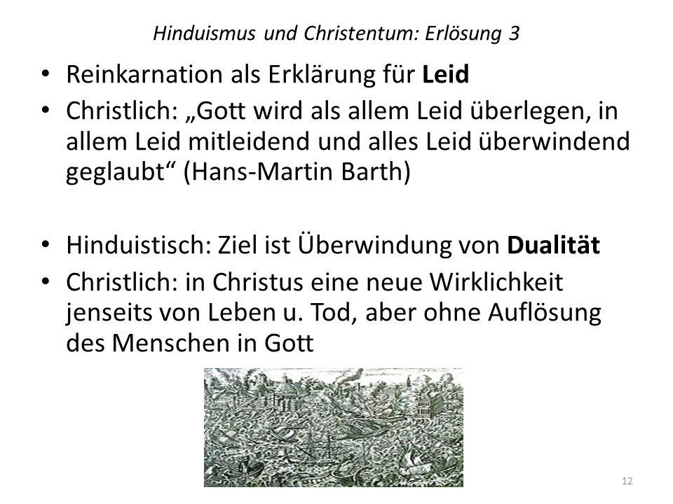Hinduismus und Christentum: Erlösung 3