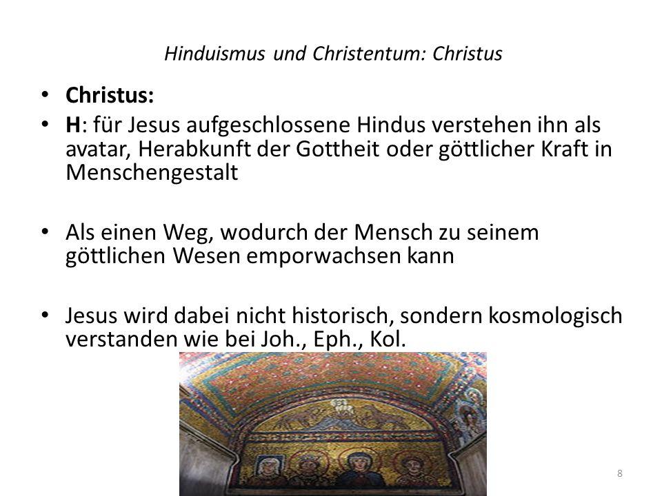 Hinduismus und Christentum: Christus
