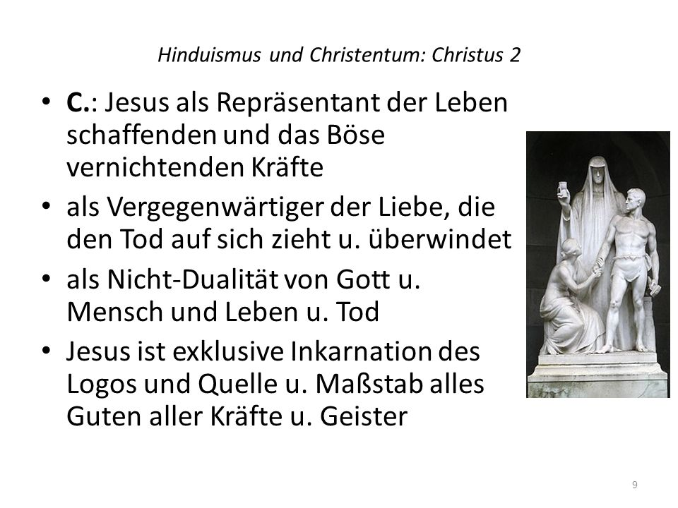 Hinduismus und Christentum: Christus 2