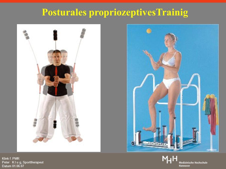 Posturales propriozeptivesTrainig