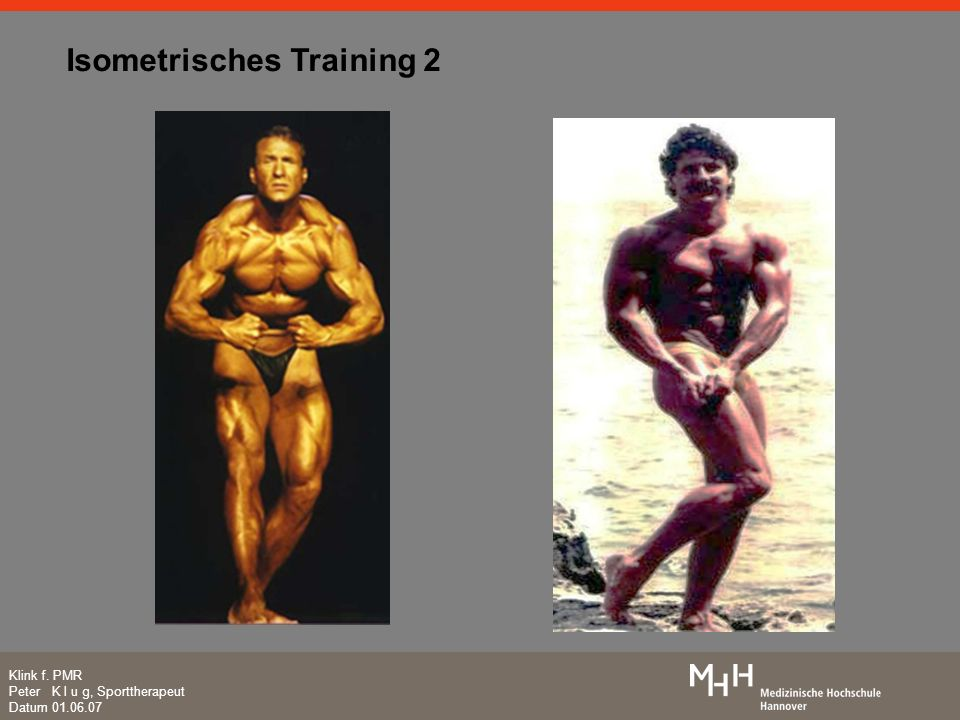 Isometrisches Training 2