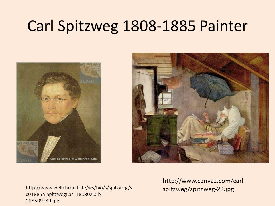 Carl Spitzweg 1808-1885 Painter