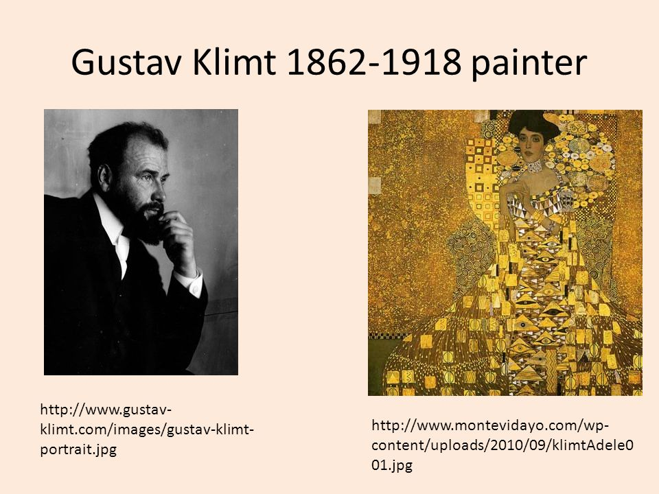 Gustav Klimt painter