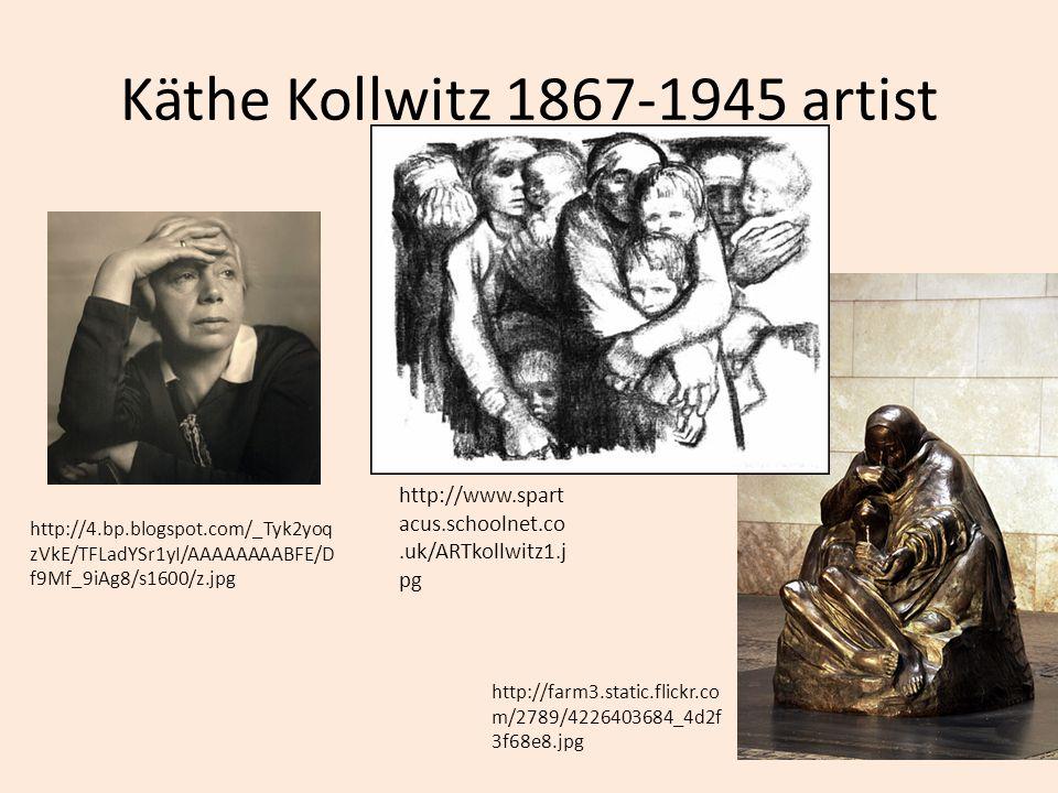 Käthe Kollwitz 1867-1945 artist