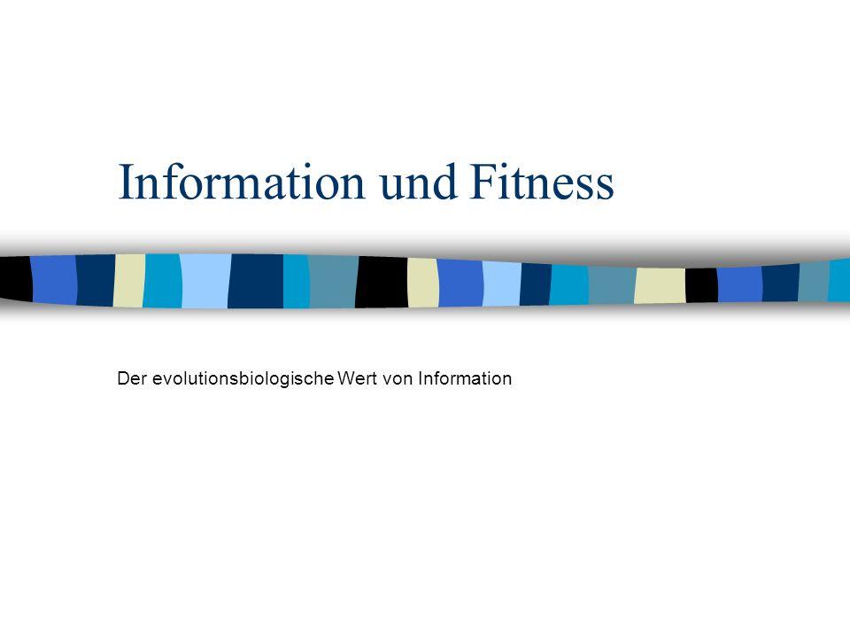 Information und Fitness