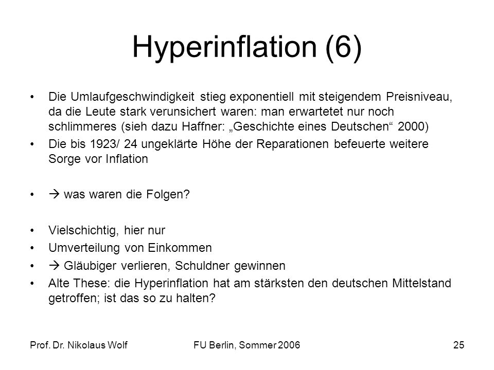 Hyperinflation (6)