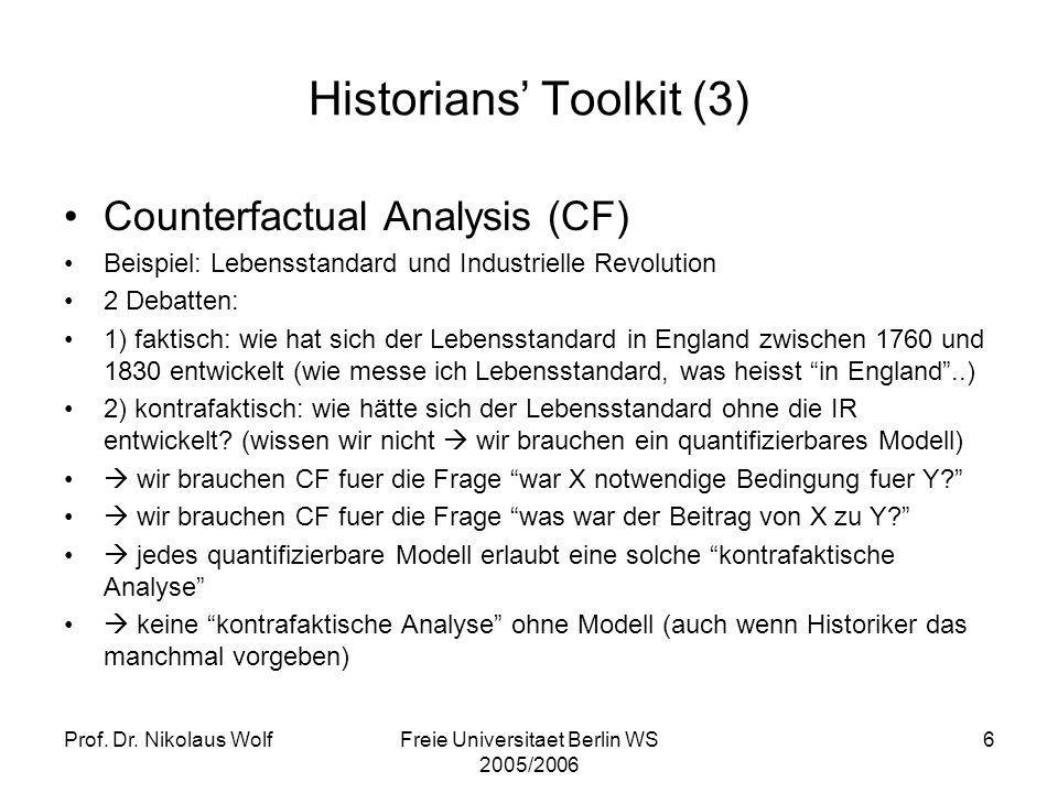 Historians' Toolkit (3)