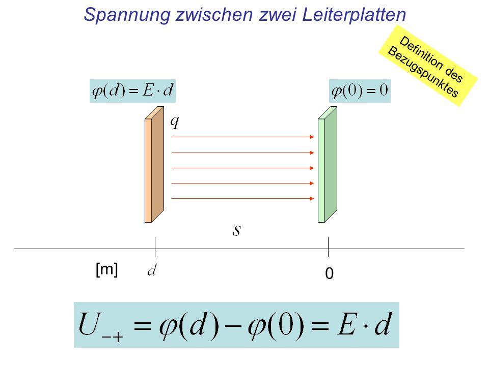 Spannung zwischen zwei Leiterplatten