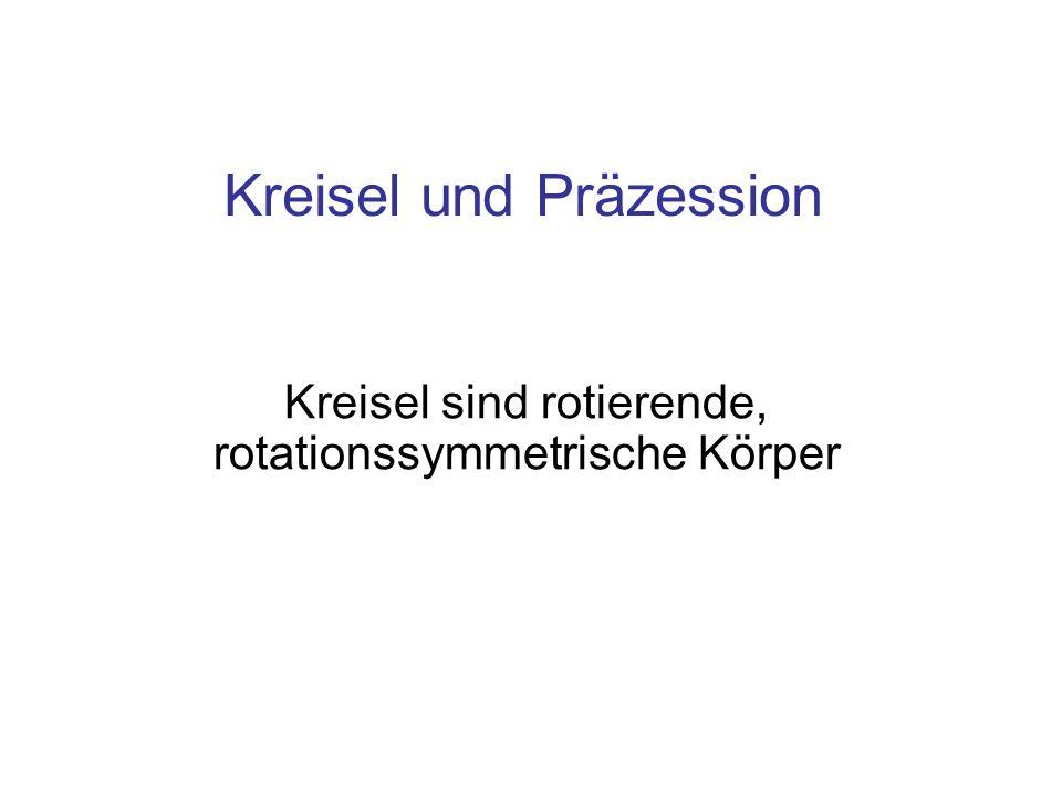 Kreisel und Präzession