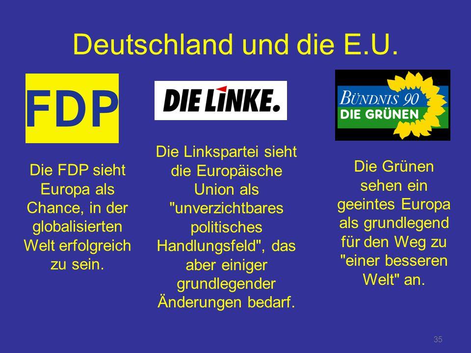 Deutschland und die E.U.