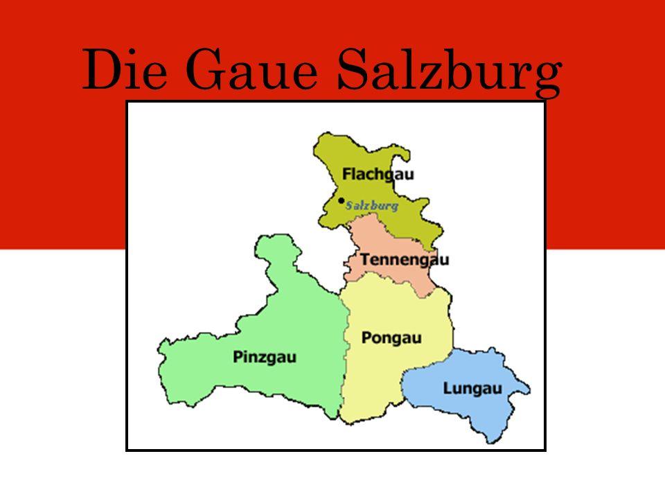 Die Gaue Salzburg
