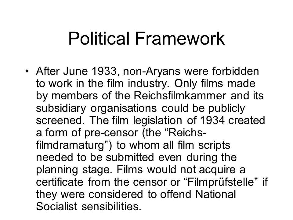 Political Framework