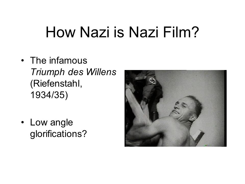 How Nazi is Nazi Film.