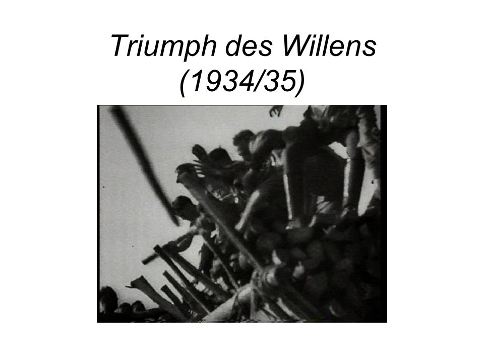 Triumph des Willens (1934/35)