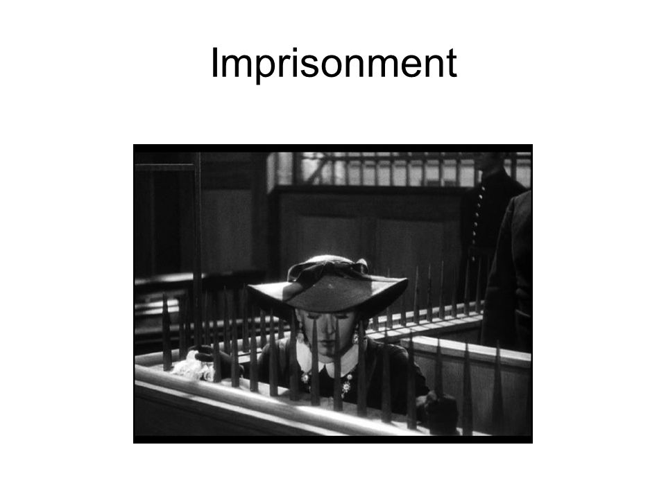 Imprisonment
